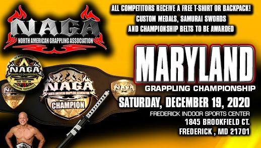 NAGA 2020 Maryland Grappling Championship, Frederick Indoor Sports