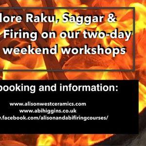 RAKU SAGGAR & BARREL FIRING WORKSHOP 2021
