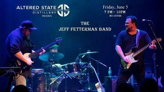 An Evening of The Blues w The Jeff Fetterman Band at ASD