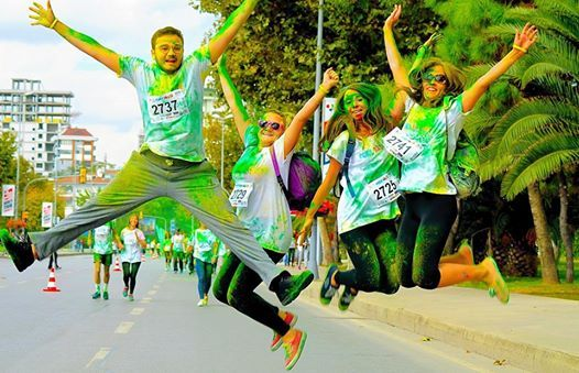 Bursa Color Sky 5K 2019
