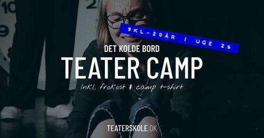 Teatercamp ⎮ 9 kl - 20 år ⎮ uge 26, 28 June | Event in Fredericia | AllEvents.in