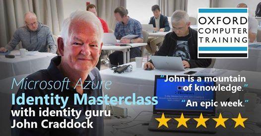 Identity Masterclass with John Craddock
