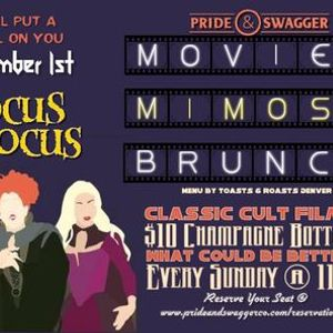 Movies & Mimosas Brunch - Hocus Pocus