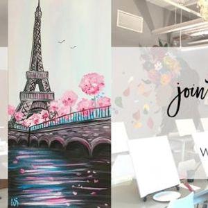 Paris in Bloom In Studio