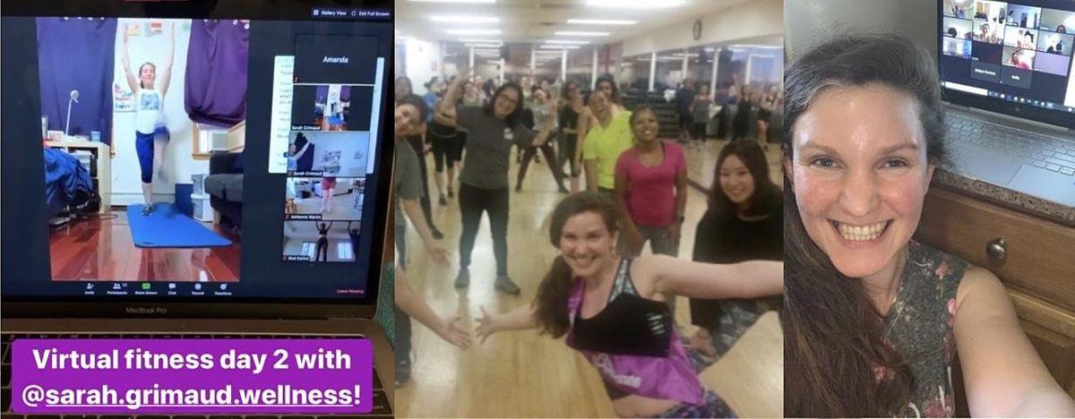 June 29 Week 16 -  Virtual Fitness Studio  Zumba Tonecore Stretch