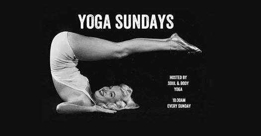 Yoga At BrewDog With VeganVeggie Pizza And Tea