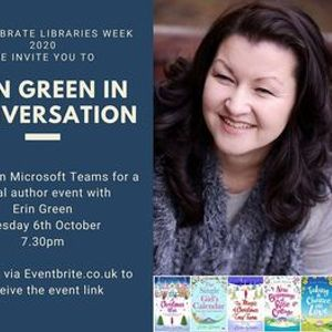 Erin Green in conversation with Warwickshire Libraries