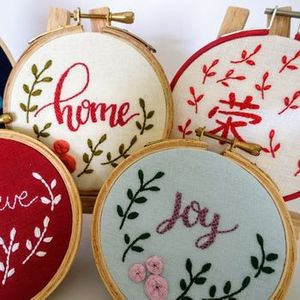 Hand Embroidery - Mini Workshop