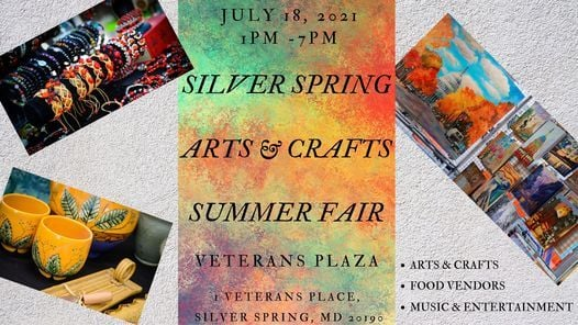 Silver Spring Arts & Crafts Summer Fair, 18 July | Event in Silver Spring | AllEvents.in