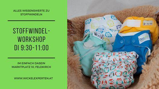 Stoffwindelworkshop in Feldkirch