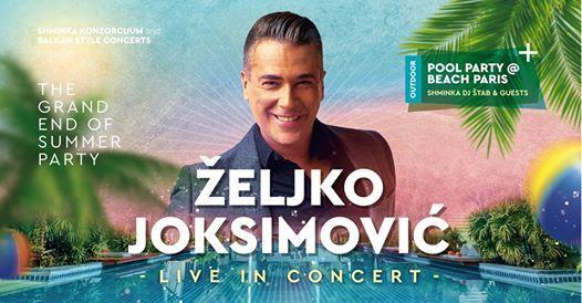 eljko Joksimovi - Toronto  concert  pool party
