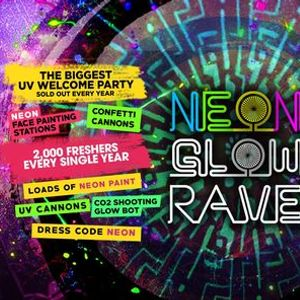 The 2020 Freshers Neon Glow Rave at EGG London