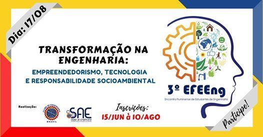 3 EFEEng - Encontro Fluminense de Estudantes de Engenharia