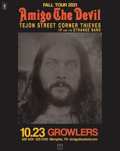 Amigo the Devil - Fall Tour 2021 - Memphis,TN, 23 October   Event in Memphis   AllEvents.in