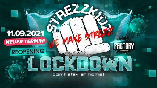 11.09.2021 - Strezzkidz ReOpening - Factory Magdeburg Online, 11 September | Online Event | AllEvents.in