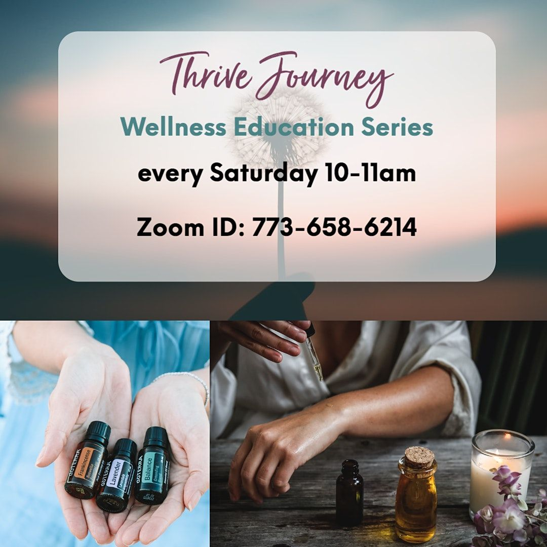 Thrive Journey - Wellness Education Series