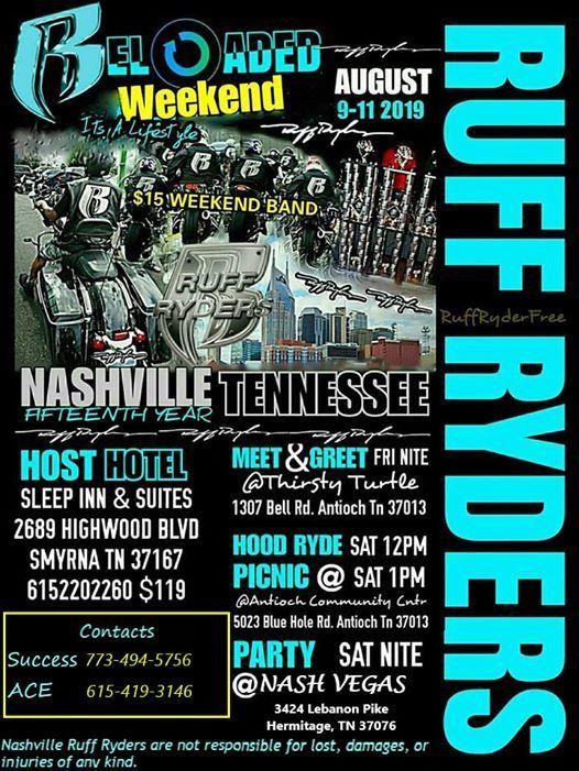 Nashville Ruff Ryders 15th Anniversary Weekend | Nashville