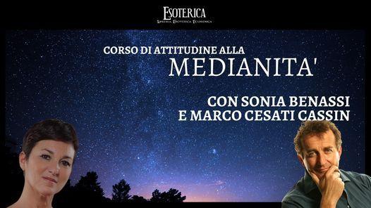 Corso di attitudine alla medianità con Sonia Benassi e Marco Cesati Cassin, 12 June | Event in Assago | AllEvents.in