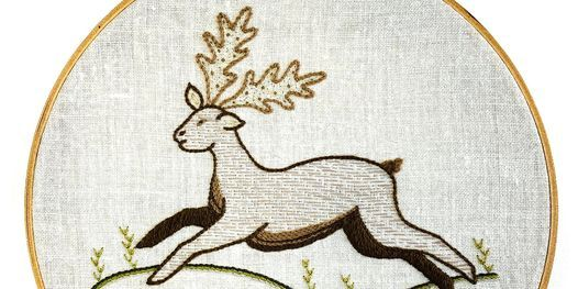 Introduction to Embroidery: Traditional Animal, 20 May | Online Event | AllEvents.in