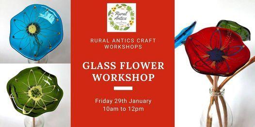 Glass Flower Workshop, 10 April | Event in Melton Mowbray | AllEvents.in