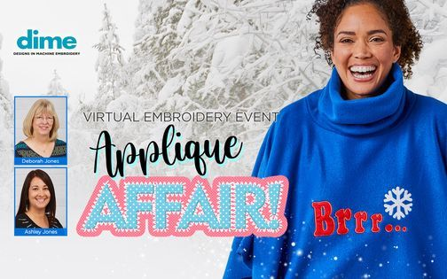 Embroidery.com - Applique Affair Virtual Event | Online Event | AllEvents.in
