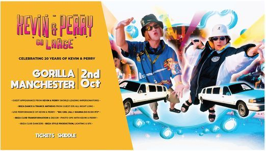 Kevin & Perry go Large in Manchester! 21st Anniversary tour!, 2 October | Event in Manchester | AllEvents.in