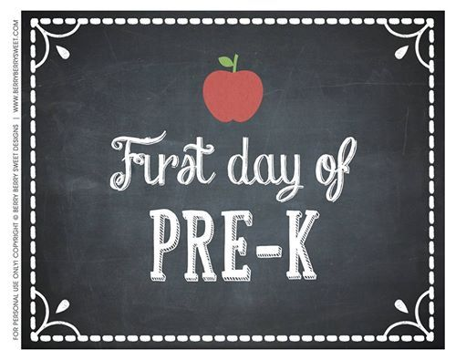 First Day of Monday/Wednesday Pre-K at Turner Primary School