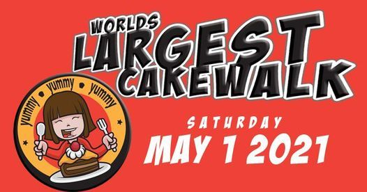 Worlds Largest Cake Walk, 1 May   Event in Chesterfield   AllEvents.in