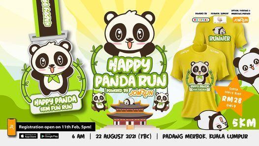KL Happy Panda 5km Fun Run, 22 August | Event in Kuala Lumpur | AllEvents.in