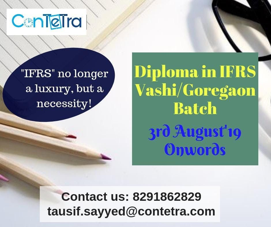 Dip IFRS Training in Navi Mumbai by ConTeTra