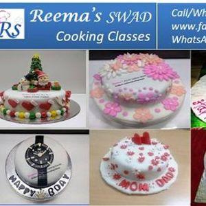 Fondant Cake Decoration - Online LIVE Class