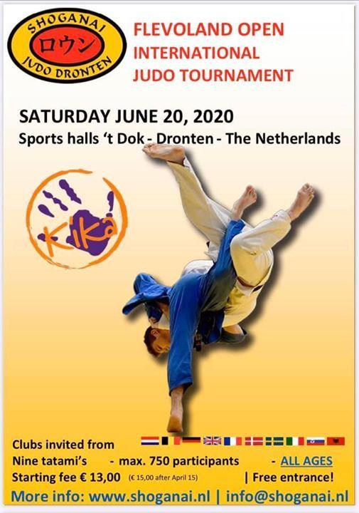 3e Open Flevolands International Judo Tournament