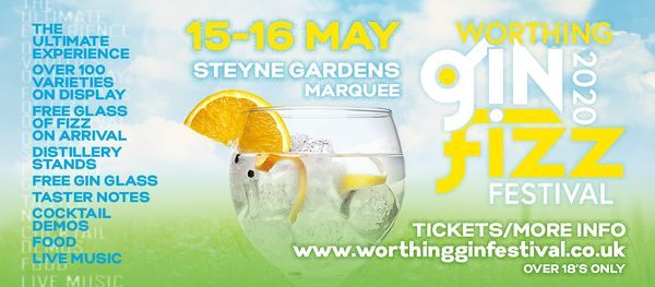 Worthing Gin & Fizz Festival, 14 May | Event in Worthing | AllEvents.in