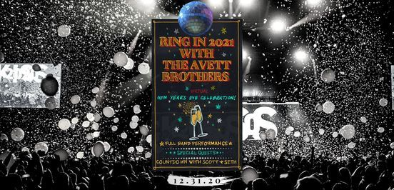 The AVETT Brothers New Years Eve Virtual Celebration, 1 February | Online Event | AllEvents.in