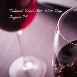 National Drink Red Wine Day at Galvez Bar & Grill.