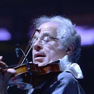 Violinvirtuosen Itzhak Perlman Sndagsmatin med introduktion