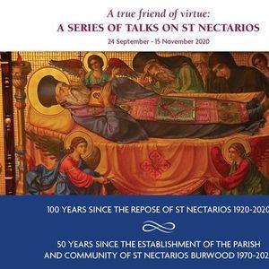 Series of talks on St Nectarios - Talk 8 (English)