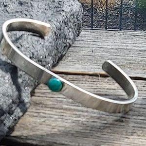 Silver Cuff Bracelet wRene