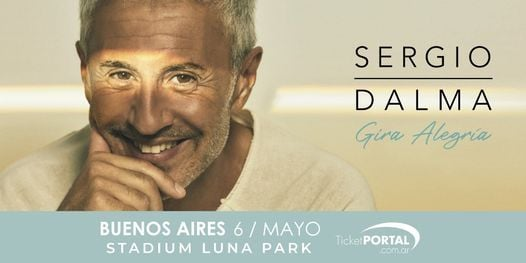 Sergio Dalma, 6 May | Event in Buenos Aires | AllEvents.in