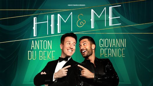 Anton and Giovanni - Him and Me, 3 July | Event in Grimsby | AllEvents.in