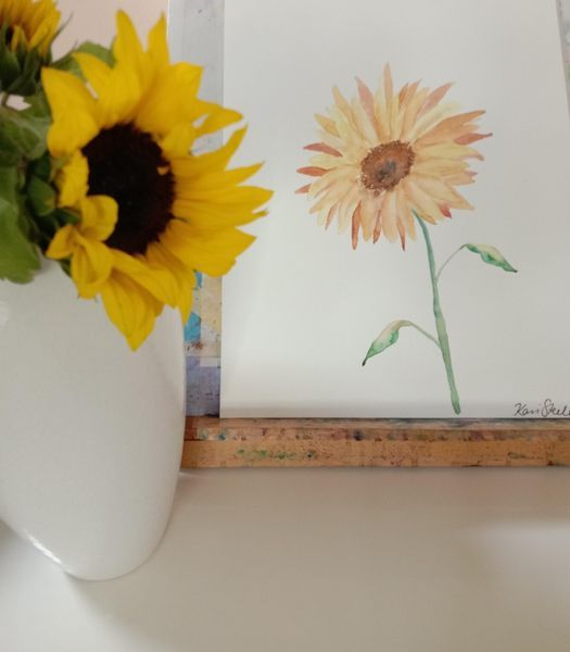 Sunflowers in Watercolour, 31 October | Event in Manly | AllEvents.in