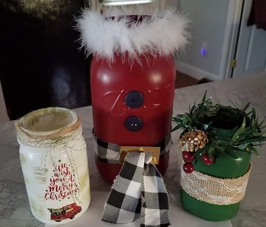 Christmas Jar Set Workshop