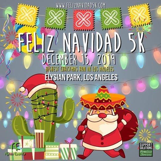 2019 Feliz Navidad 5K & 12 Mile Dash