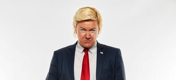 Comedy Alexander Sparrow is DJ Trump