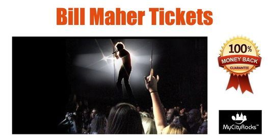 Bill Maher Tickets Newark NJ NJPAC 725