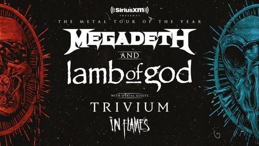 Megadeth and Lamb of God, 1 September | Event in Irvine | AllEvents.in
