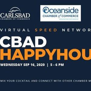Virtual CBAD Happy Hour with the Oceanside Chamber of Commerce