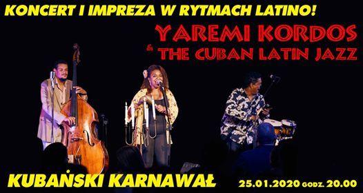 Kubaski karnawa Yaremi Kordos & The Cuban Latin Jazz