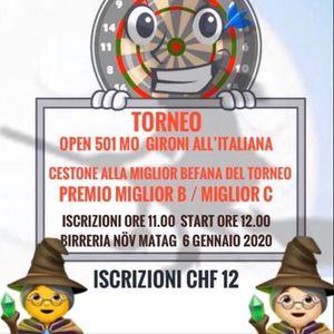 Torneo 501 MO gironi allitaliana