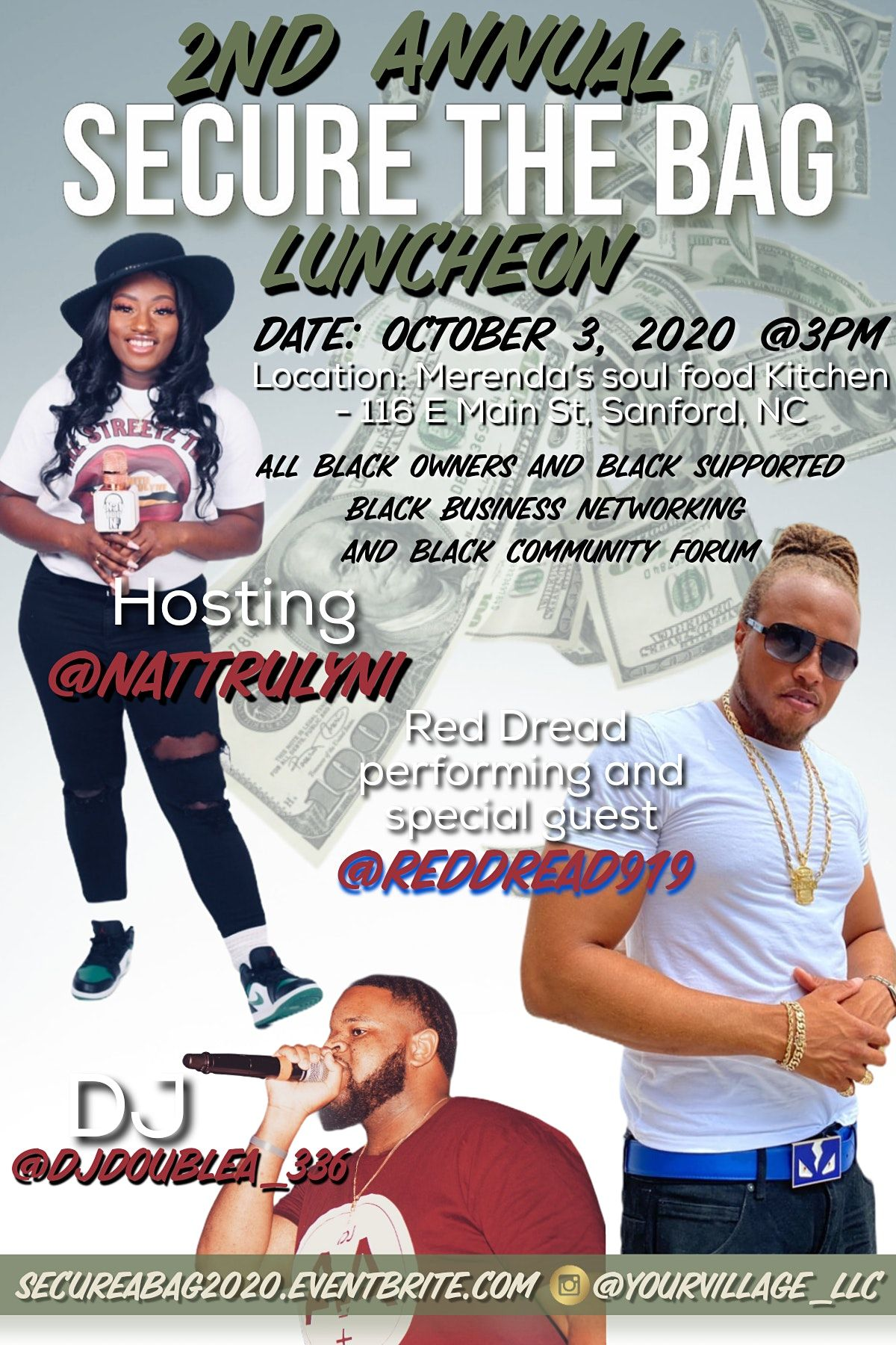 Secure The Bag Networking Lunch